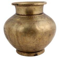 Golden Brass Heavy Bottomed Water Pot
