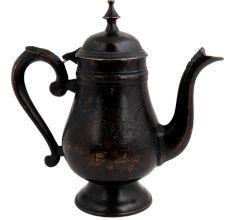 Handmade Black Brass Coffee Pot Finial Top