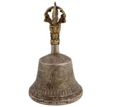 Brass Tibetan Buddhist Temple Meditation Bell
