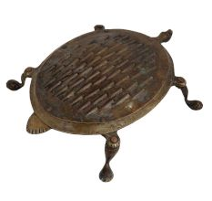 Brass Grater Oval Turtle With Four Legs Home Decoration