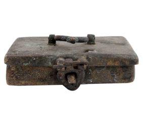 Brass Six  Container Bindi Box