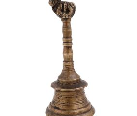Vintage Brass Nandi Handheld  Bell