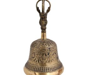 Handmade Tibetan Brass Bell For Meditation
