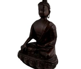 Brass Sitting Buddha Statue Home Decoration