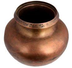Big Round Bottomed Brass Water Pot
