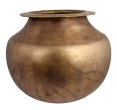 Brass Big Belly Milk Water Pot