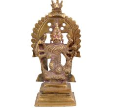 Brass Indian Statue Goddess For Hindu Worship