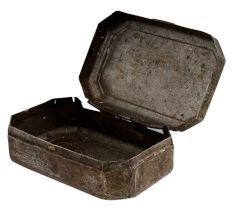 Brass Old Storage Box Snuff Box