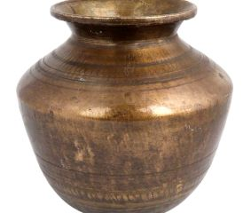 Brass Big Water Pot Hindu Ritual Worship Pot