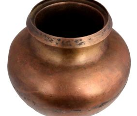Big Round Bottomed Brass Water Pot