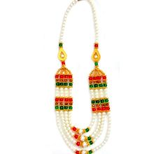 Allure Glittering Handicraft Necklace Set