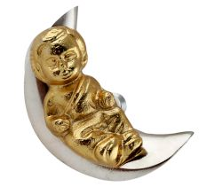 Baby Sleeping on Moon Iron Aluminium Cabinet Knobs