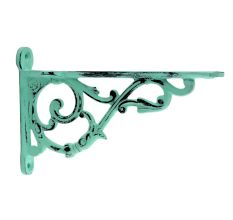 Antique Sage Green Small Shelves Brackets
