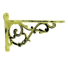 Antique Yellow Small Shelves Brackets