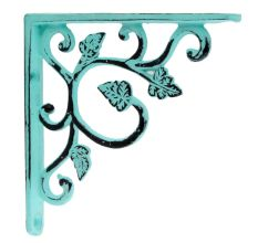 Antique Sea Green Small Shelves Brackets