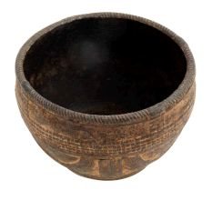 Old Ribbon Design Rice Measuring Pot