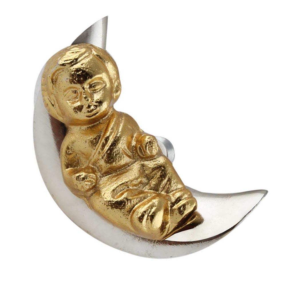 Baby Sleeping on Moon Iron Aluminium Cabinet Knobs