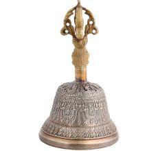 Goddess Face Buddha Brass Meditation Dorje Ghanta Bell