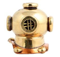 Brass Nautical Diving Helmet With Keychain