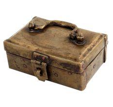 Brass Rectangular Six Compartment Box