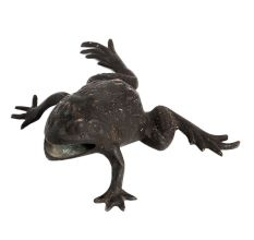 Vintage Brass Indian Frog For Gifting
