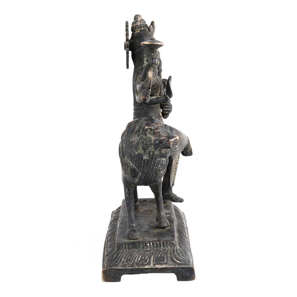 Brass Durga Statue Religious Gift Decoration