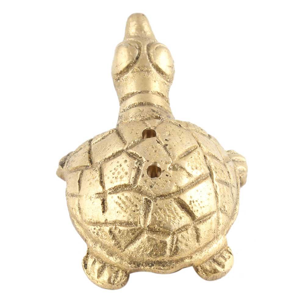 Brass Turtle Incense Holder Agarbati Stand