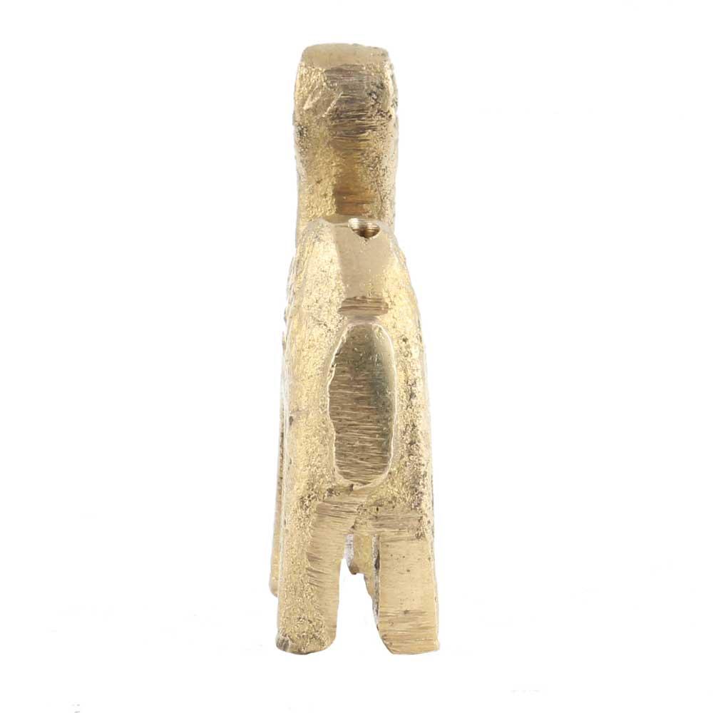 Brass Tribal Camel Figurine Incense Holder