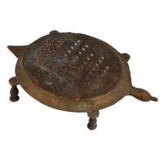 Brass Tortoise Shape Indian Grater