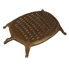 Brass Tortoise Vegetable Grater Coconut Scraper