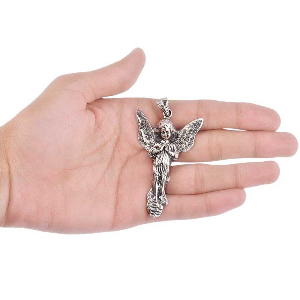 925 Sterling Silver Fairy Charm Pendant For Necklace