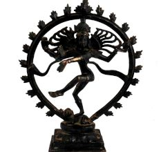 Black Brass Nataraja�Lord Dancing Shiva�Statue Showpiece