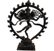 Black Brass Nataraja�Lord Dancing Shiva�Statue Showpiece