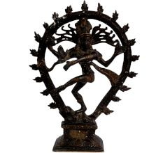 Brass Nataraja Dancing Shiva Statue For Gifting