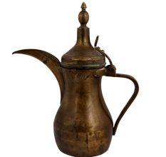 Traditional Brass Arabic Dallah Coffee Pot