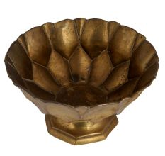 Brass Serving Cup Or Bowl On Stand For Home Decorative