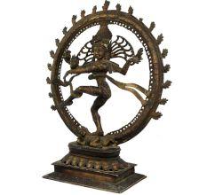 Handcrafted Brass Nataraja Statue Decorative Sculpture