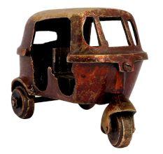 Brass Auto Statue Toy Vintage Showpiece Toy