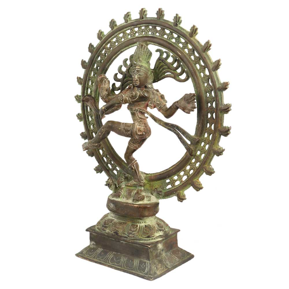 Brass Dancing Shiva Statue Home Decoration