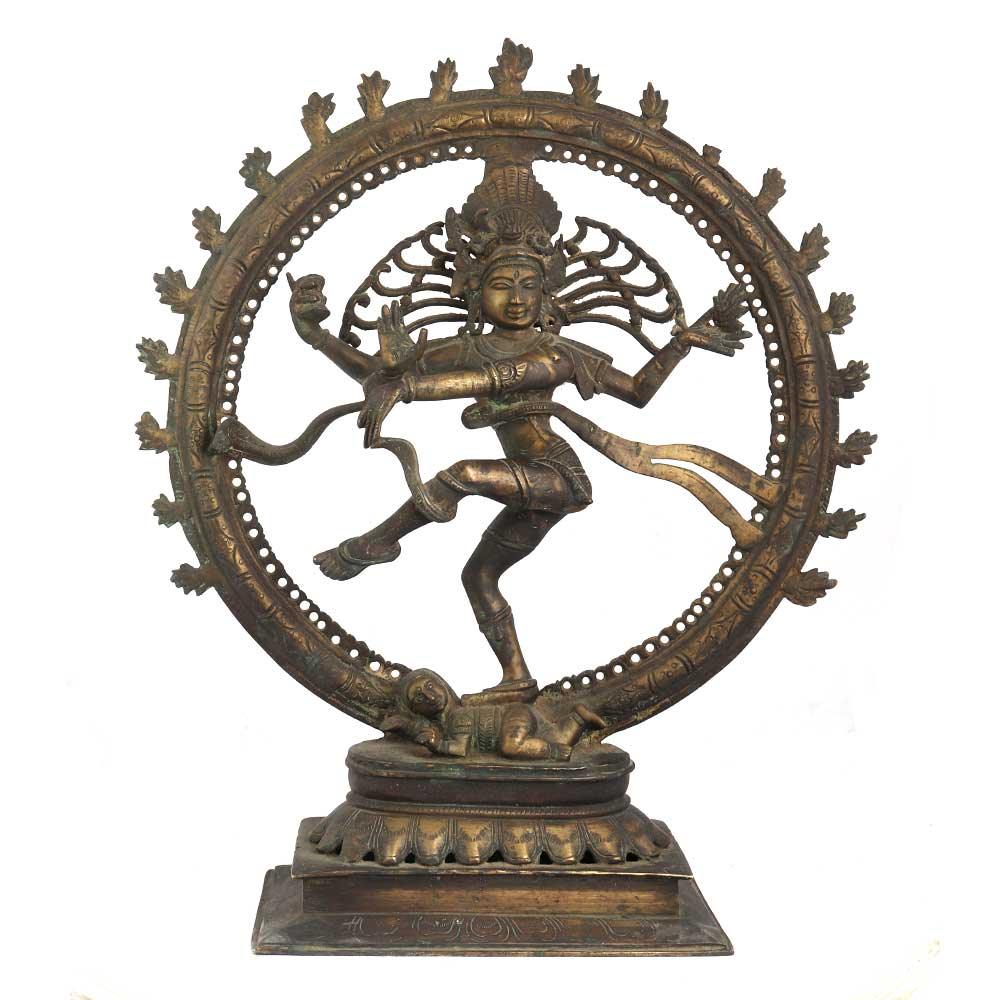 Handcrafted Brass Nataraja Statue Decorative Sculpture