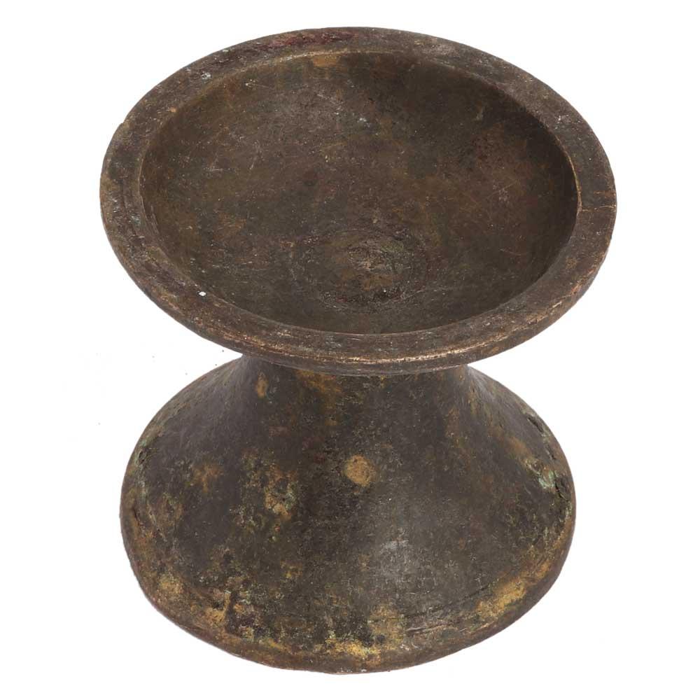 Traditional Old Handmade Brass Incense Holder