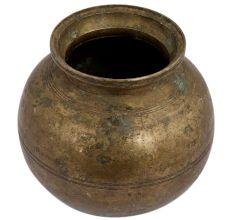 Brass Round Water Storage Pot