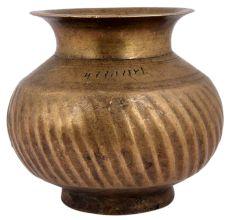 Brass Kitchen Lota Water Storage
