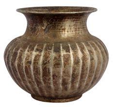 Old Spiritual Brass Water Storage Pot For Worship