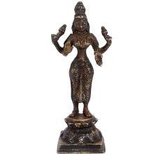 Brass Maha Laxmi Statue Goddess Lakshmi Statue