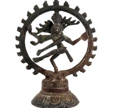 Brass Nataraja Idol Lord Shiva Statue Collectors Item