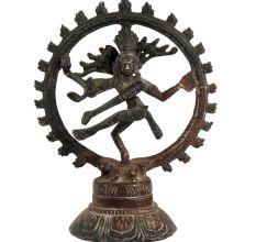Brass Nataraja Idol Lord Shiva Statue Collectors Item