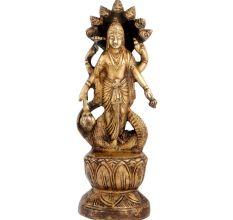 Brass Lord Vishnu Statue Or Idol Under Anant Naag