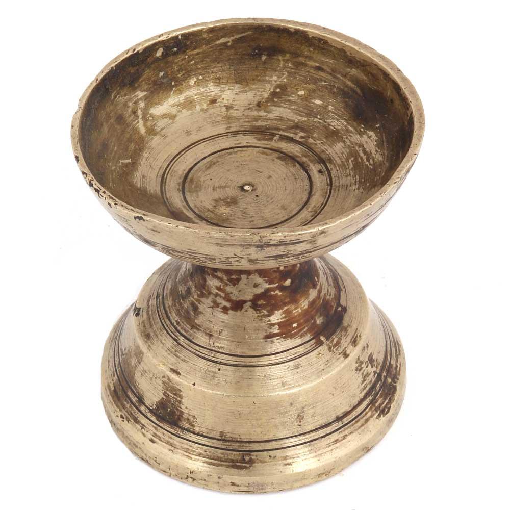 Brass Pooja Diya Pital Ka Deepak For Worship