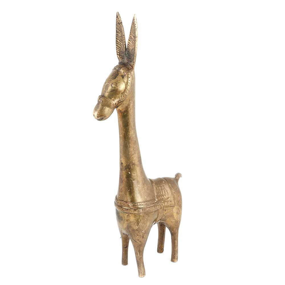 Dhokra Handcrafted Horse Figurine